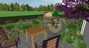 Entwurf Gartengestaltung